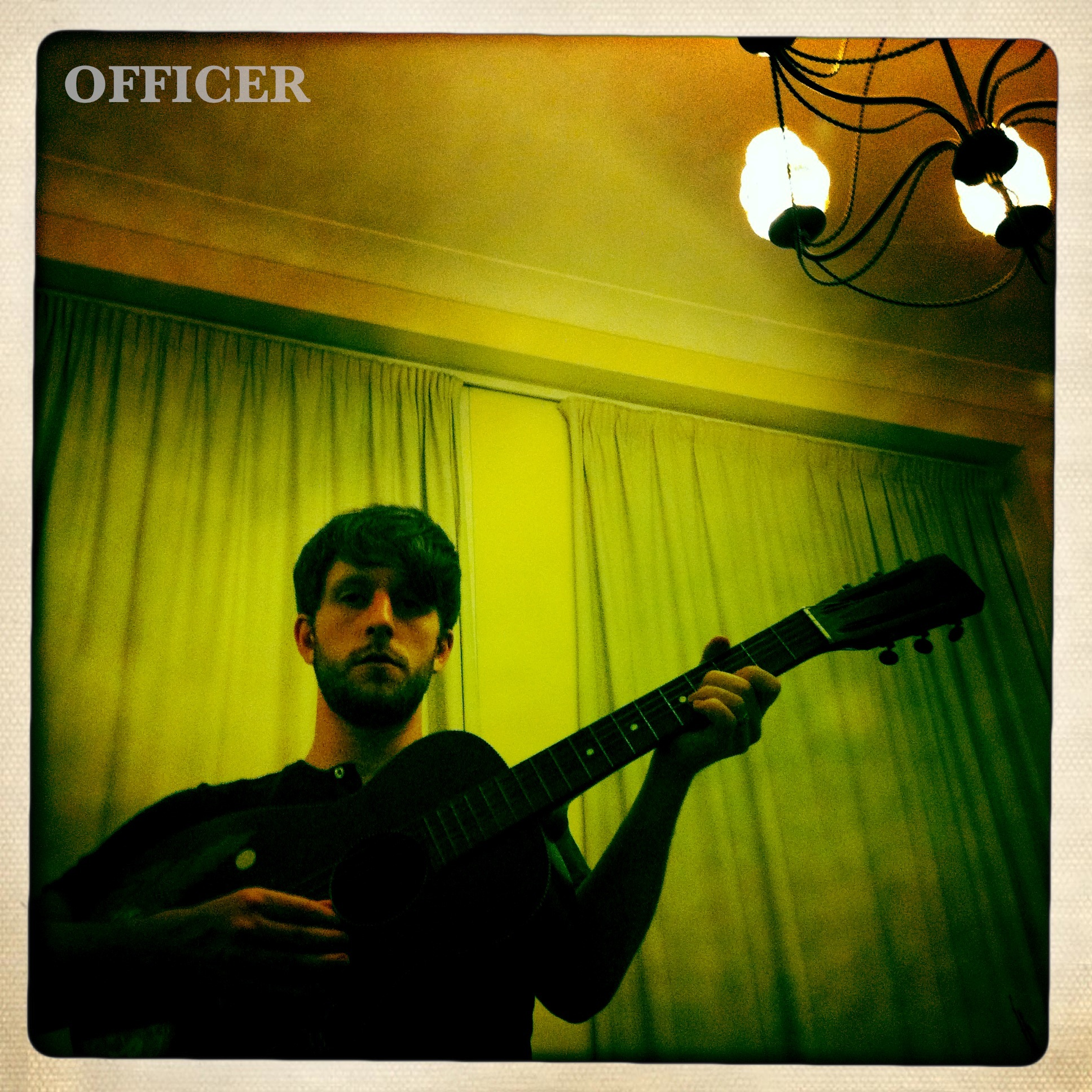 Officer writes for upcoming ep 'Old Solar'